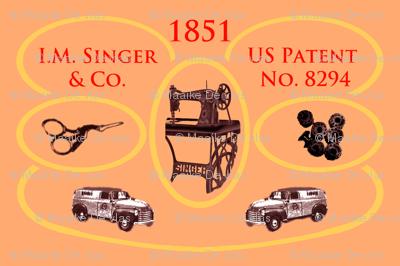 1851 Singer vintage