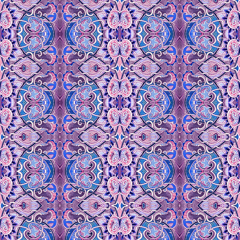 My Gypsy Heart fabric by edsel2084 on Spoonflower - custom fabric