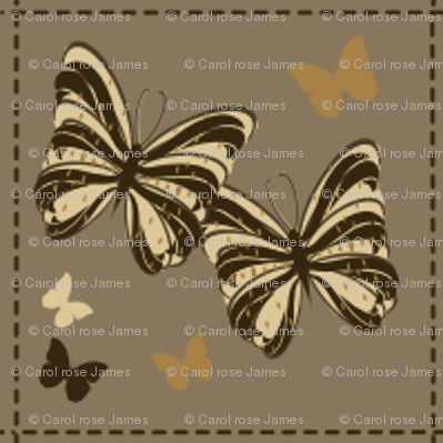 chocolate butterflys
