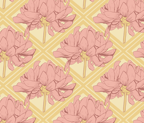 Kristi - Deco Diamond fabric by katrinazerilli on Spoonflower - custom fabric