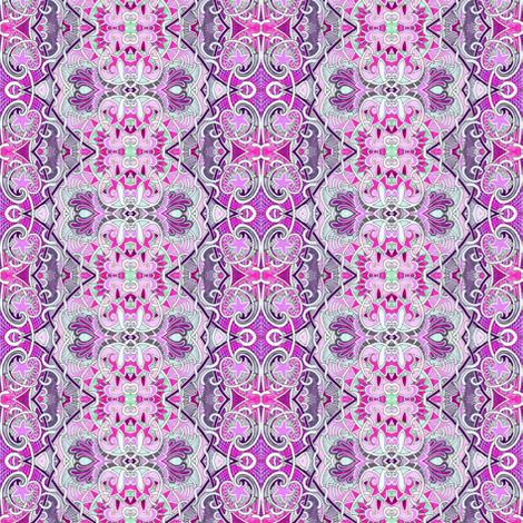 Interlocking India fabric by edsel2084 on Spoonflower - custom fabric