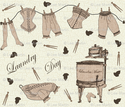 Vintage Laundry Day