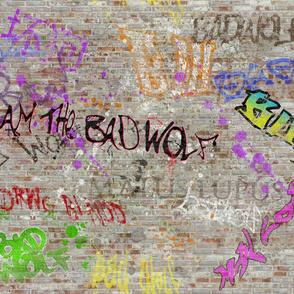 Bad Wolf Street Art