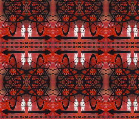 Biohazard fabric by discodog01 on Spoonflower - custom fabric
