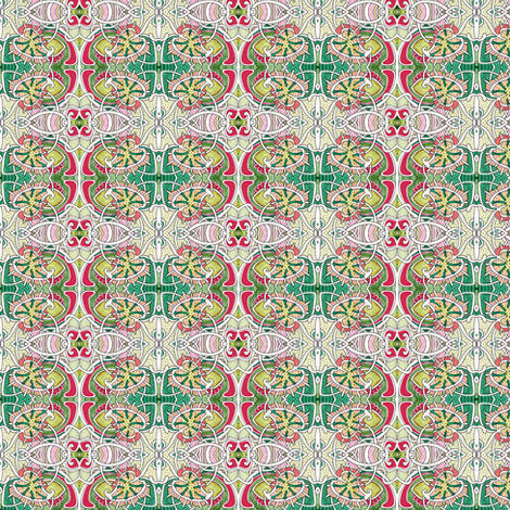Criss Cross Christmas fabric by edsel2084 on Spoonflower - custom fabric