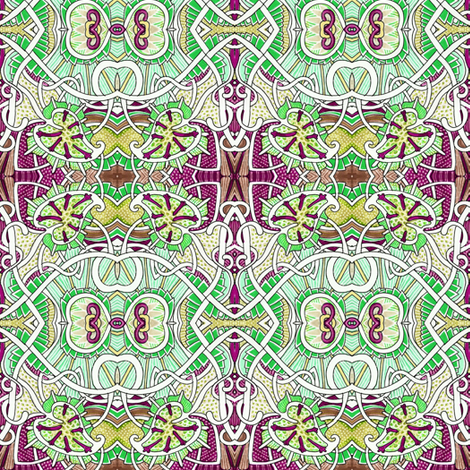 Somewhere in the Jungle fabric by edsel2084 on Spoonflower - custom fabric