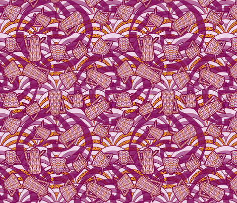 deco-dent_teapot_party - orchid fabric by glimmericks on Spoonflower - custom fabric