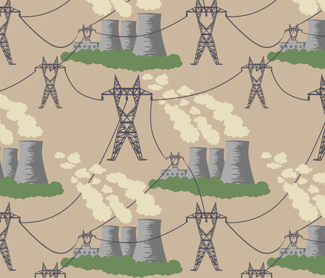 Outdated Power fabric by leeleeandthebee on Spoonflower - custom fabric