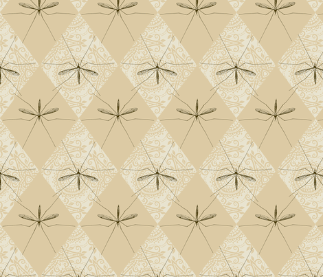 Tipula fabric by siya on Spoonflower - custom fabric