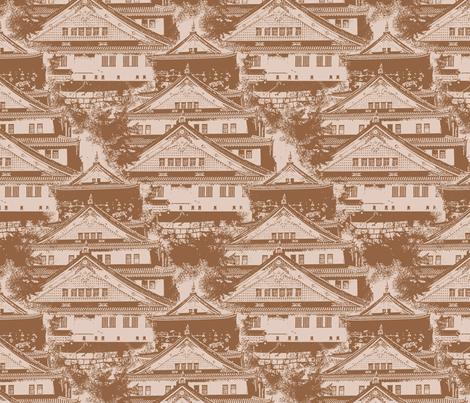 Osaka Castle fabric by siya on Spoonflower - custom fabric