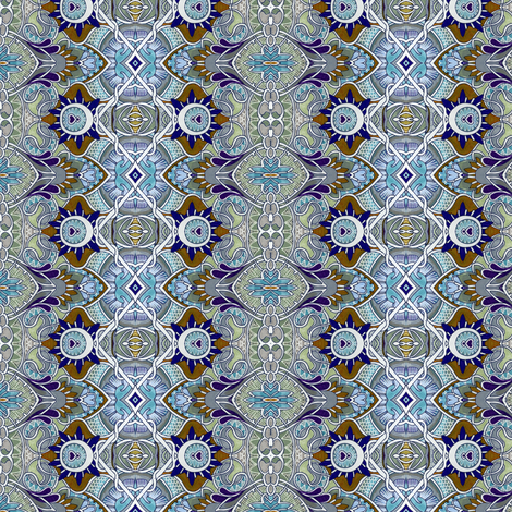 It Was a Dark and Stormy Night (Victorian vertical stripe) fabric by edsel2084 on Spoonflower - custom fabric