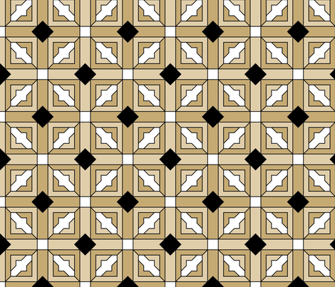 Art Deco 1 fabric by patchinista on Spoonflower - custom fabric