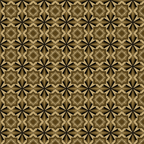 Art Deco 2 fabric by patchinista on Spoonflower - custom fabric