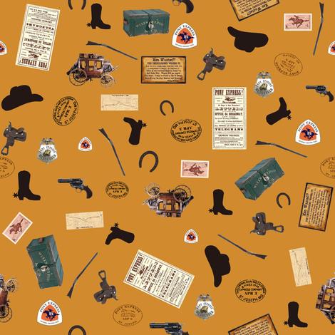 Trail Mail fabric by sheila_marie_delgado on Spoonflower - custom fabric
