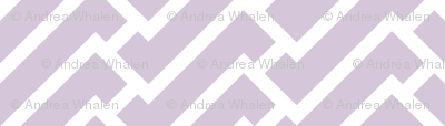 fretwork in lilac