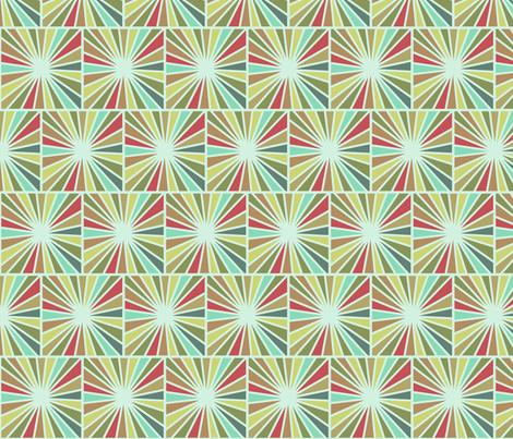 Starburst fabric by littlerhodydesign on Spoonflower - custom fabric