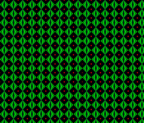 IllusionEmeralds fabric by grannynan on Spoonflower - custom fabric