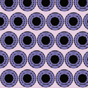 Purple Grid Dots