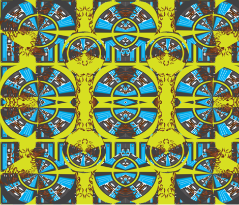 Tropical Beat fabric by dida on Spoonflower - custom fabric