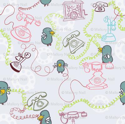 phone birds
