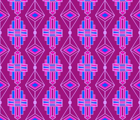 ArtDecoJewelversion7 fabric by grannynan on Spoonflower - custom fabric