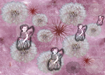 Fluff and Fairy Puffs - with fairies