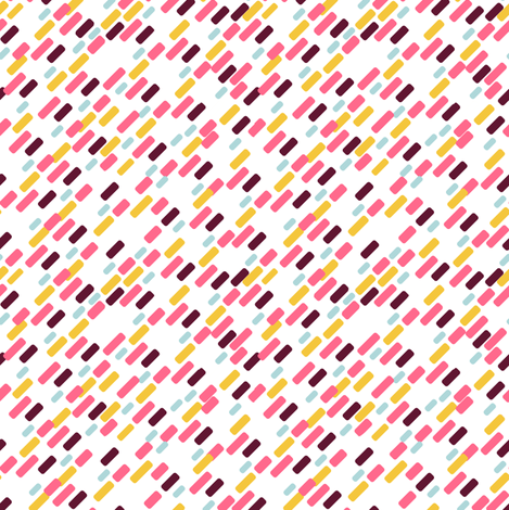 Diagonal brick Pattern | white fabric by irrimiri on Spoonflower - custom fabric