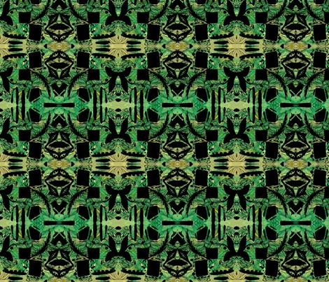 Tribal Forest fabric by missmorice on Spoonflower - custom fabric