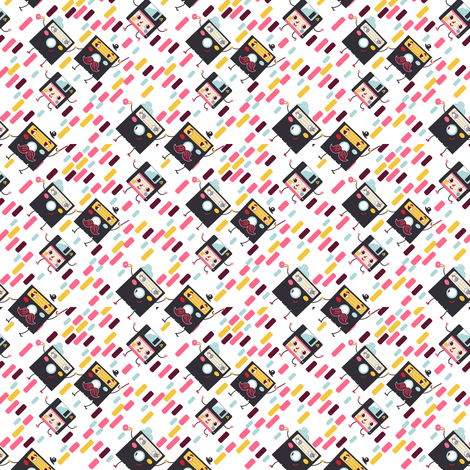 Family Floppy takes a walk down memory lane fabric by irrimiri on Spoonflower - custom fabric