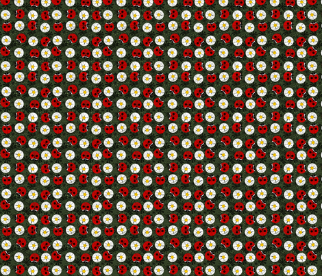 ladybug_dots fabric by glimmericks on Spoonflower - custom fabric