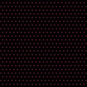 Polka pink on black