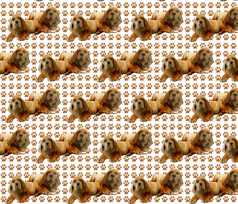 fila brasileiro_puppies fabric by dogdaze_ on Spoonflower - custom fabric
