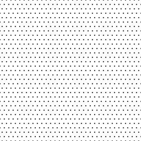 Polka black on white fabric by glanoramay on Spoonflower - custom fabric