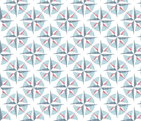 Compass Point fabric by spellstone on Spoonflower - custom fabric