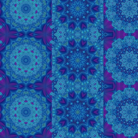 purple blue circles & strips fabric by krs_expressions on Spoonflower - custom fabric