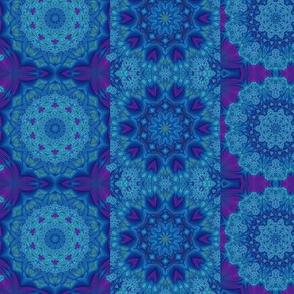 purple blue circles & strips