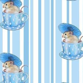 parasol mouse bleu