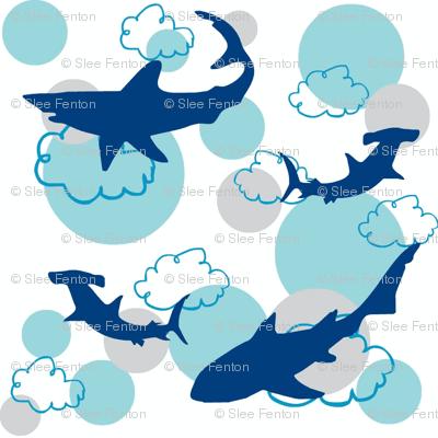 Sky Sharks-ditsy
