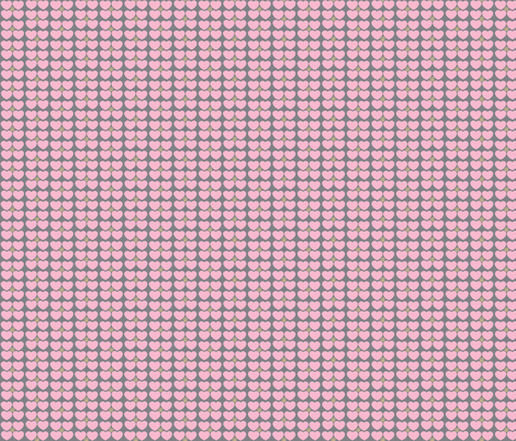 Hearts of Sunshine in Pink fabric by kbexquisites on Spoonflower - custom fabric