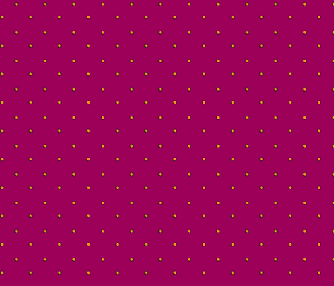 RazzBerry Graffiti Dots fabric by ghennah on Spoonflower - custom fabric