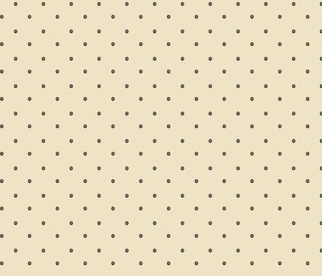 Cream Graffiti Dots fabric by ghennah on Spoonflower - custom fabric