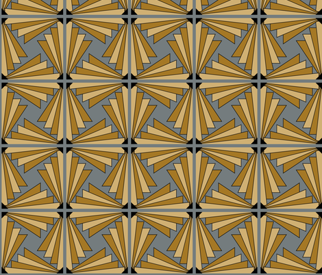 art_deco_7 fabric by patchinista on Spoonflower - custom fabric