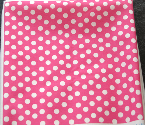 Pretty Polka Dots in Hot Pink