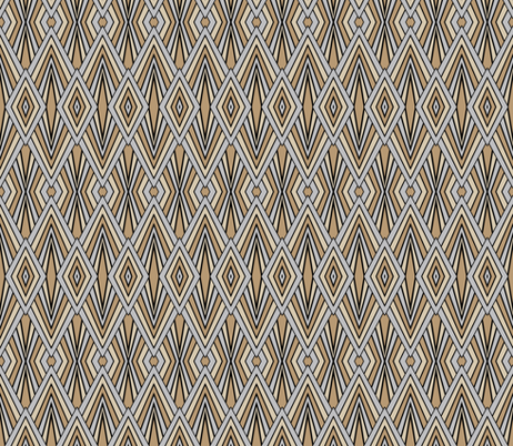 Art Deco Bursts fabric by patchinista on Spoonflower - custom fabric