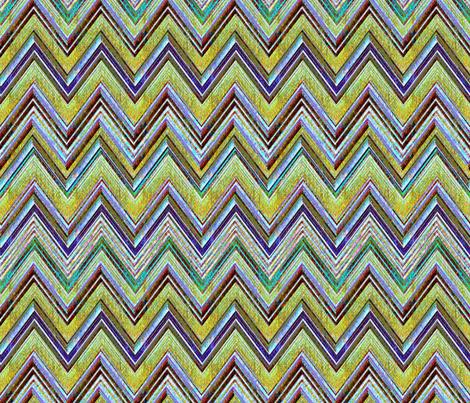Mojave Chevron fabric by joanmclemore on Spoonflower - custom fabric