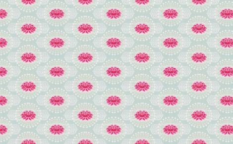 lotus fabric by myracle on Spoonflower - custom fabric