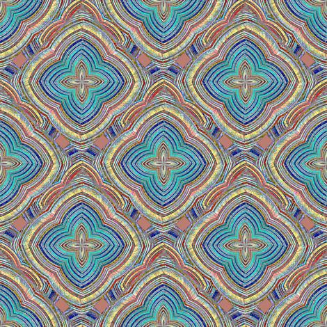 Terra Nova Diamonds fabric by joanmclemore on Spoonflower - custom fabric