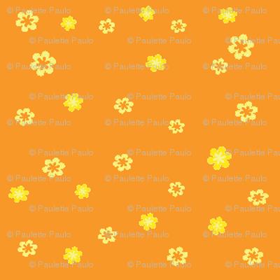lemon flowers-w/orange
