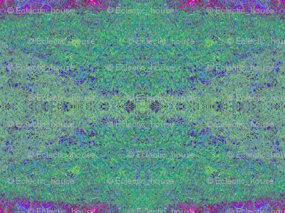 Pointillism Weeds C