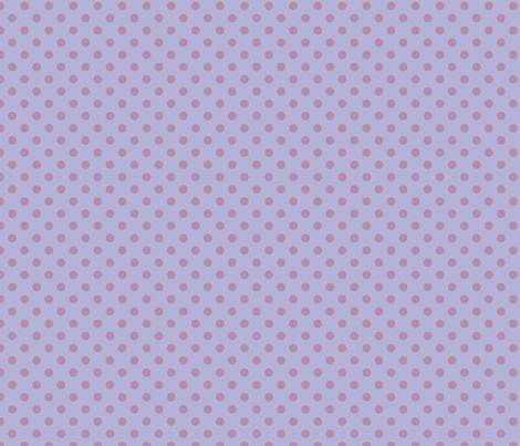 Light Purple with Orchid Dots fabric by anntuck on Spoonflower - custom fabric